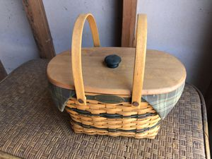 Longaberger Traditions Collection 1997 Fellowship Collection for Sale in Carlsbad, CA