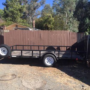 7'x14' Flat Bed Trailer For SxS for Sale in Lakeside, CA