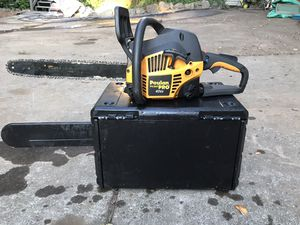 Poulan 42cc chainsaw with case for Sale in Hillsboro, OR