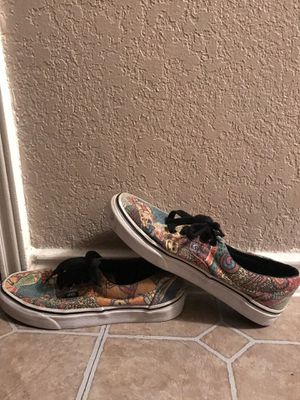colorful patterned lace vans for Sale in Midland, TX