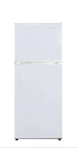 Refrigerator 9.6 Cu Ft Daewoo White 110 V Top Mount Freezer Nevera Refrigerador Frío Heladera Blanca PR1261W for Sale in Virginia Gardens, FL