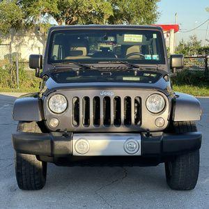 2014 Jeep Wrangler Sahara 4x4 for Sale in Orlando, FL