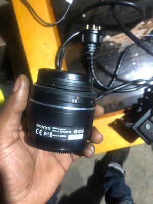 Sony camera lens for Sale in Philadelphia, PA