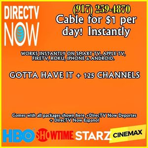 today! Instant cable TV for Sale in New York, NY