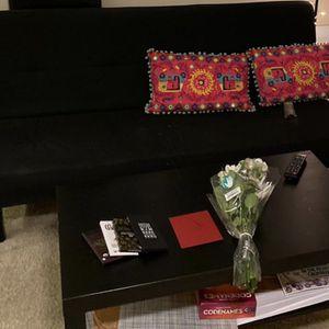 IKEA Sleeper Sofa + Front Table for Sale in San Jose, CA