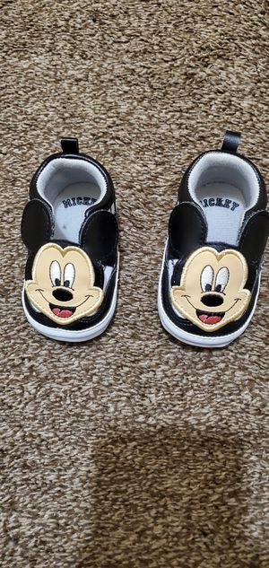 Baby boy Mikey shoes size 6-9 months for Sale in Lockport, NY