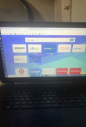 Touchscreen hp notebook for Sale in Nashville, TN
