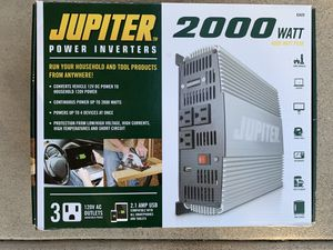 2000 Watt Power Inverter Never Used! for Sale in Fountain Hills, AZ