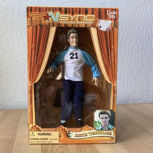 "Living Toyz Nsync Justin Timberlake 10"" Collectable Marionette Figure Doll Toy for Sale in Elizabethtown, PA"