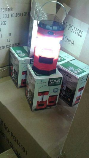 Camping/Emergency Solar Lantern with usb charger and more for Sale in Santa Fe Springs, CA