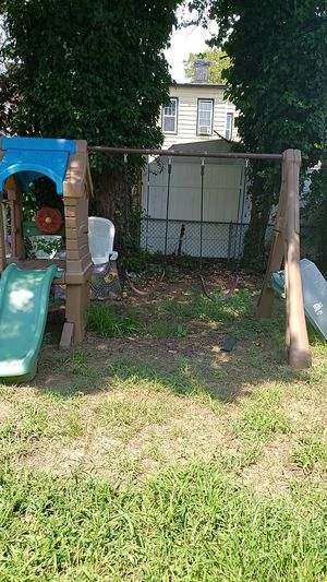 Swing set with slides for little kids / pick up only , please message me about the price. for Sale in Queens, NY