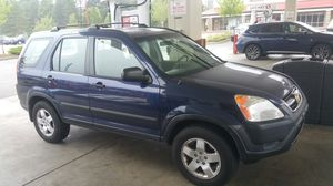 003. HONDA CRV 4WD for Sale in Renton, WA