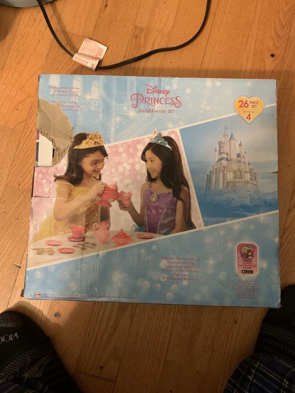 Brand new Princess dinnerware set