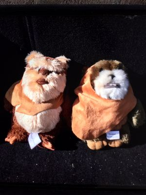 Disney's StarWars Ewok plushies for Sale in Tehachapi, CA