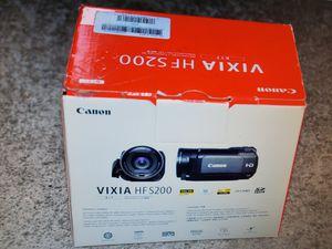 Vixia HF S200 Canon camera for Sale in Milpitas, CA