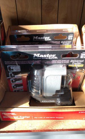 Master Lock Trailer Security Lock 379DAT Trailer Coupler Lock for Sale in Tampa, FL
