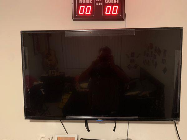 TCL ROKU TV 43 inch