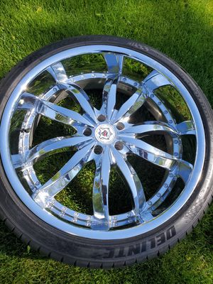 22 inch rims for Sale in Columbus, OH