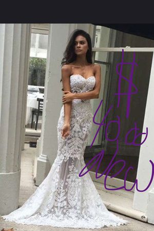 Brand New wedding dress xs,s m l xl available only )$40 for Sale in Plant City, FL