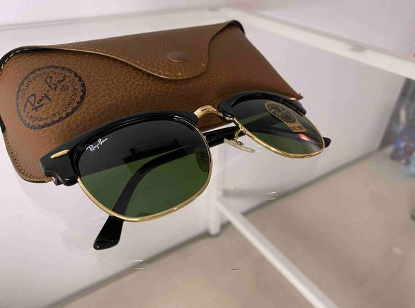 Brand New Authentic RayBan Clubmaster Sunglasses