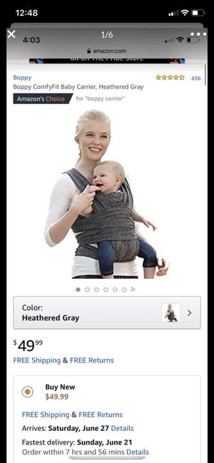 Baby carrier for Sale in Tolleson, AZ