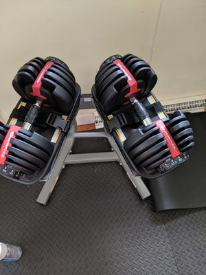 Bowflex adjustable dumbbells 552 for Sale in Columbia, MO