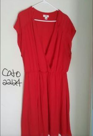 Women's Red Dress size 22/24 for Sale in Garner, NC