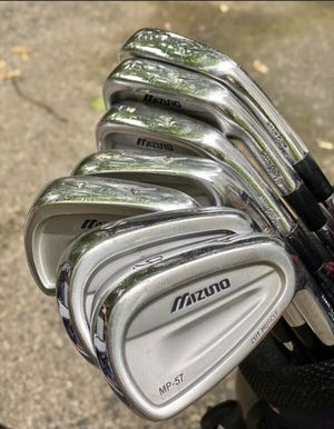 Mizuno MP 57 Irons Set for Sale in New Rochelle, NY