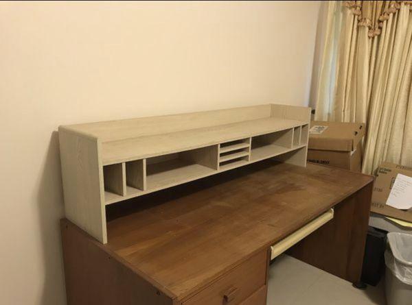 Wooden Desk Top Organizer