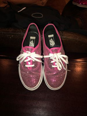 Vans Pink Glitter Kids 1.5 for Sale in Corvallis, OR