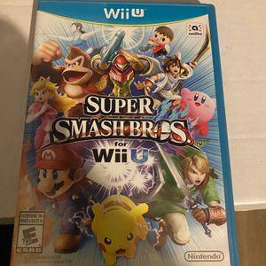 Smash Bros For Wii U for Sale in Fullerton, CA