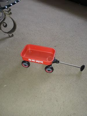 My red wagon plastic for doll for Sale in San Antonio, TX