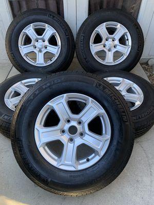 Jeep wrangler factory wheels for Sale in Rialto, CA