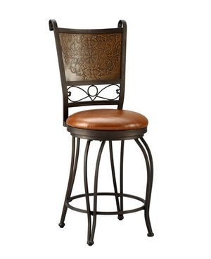 New Bronze and Copper Cushioned Bar Stool by Powell Company for Sale in Fresno, CA