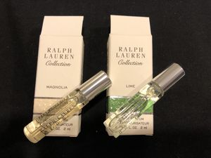 New Ralph Lauren Collection Perfume EDP Sample $5 for all for Sale in Rockville, MD