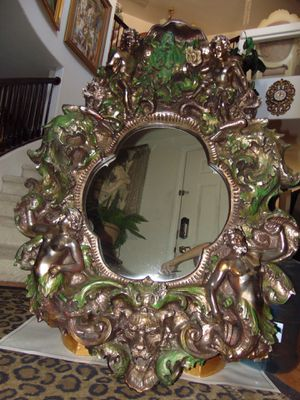Big 48 inches gothic mirror for Sale in Las Vegas, NV