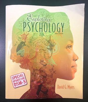 Exploring Psychology (textbook) for Sale in San Francisco, CA