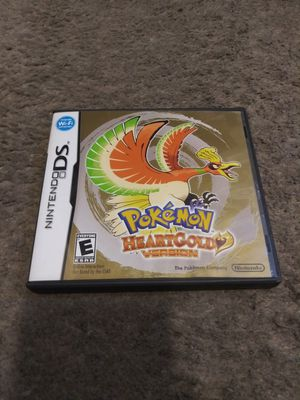 Pokemon heart gold version box & manual only no game for Sale in Garden Grove, CA
