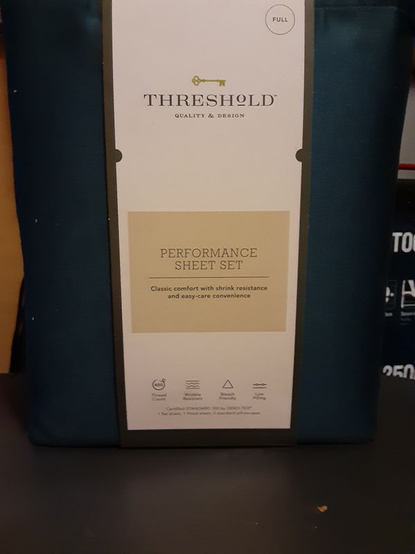 Threshold performance sheet set (full)