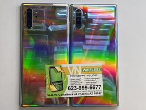 Samsung galaxy note 10+ perfect condition unlock for any carries around the world for only $599.99 price is firm pick up only for Sale in Phoenix, AZ