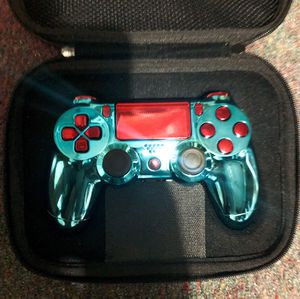 Brand New blue/red Chrome ps4 Controller for Sale in Quincy, IL