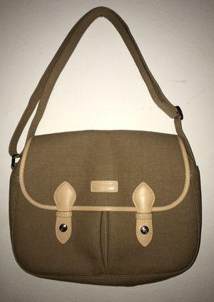 Longchamp France Bag Handbag Purse Messenger Leather Khaki for Sale in Anaheim, CA