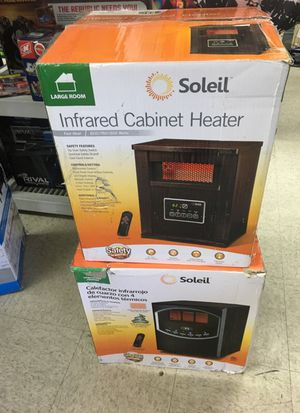 Heater cabinet infrared dile I for Sale in Vernon, CA