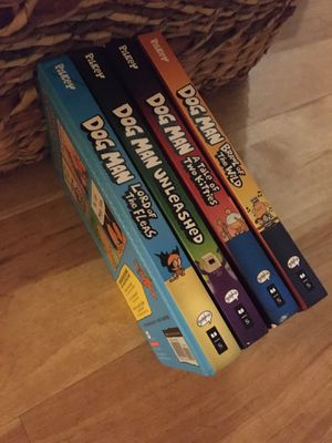 Dav Pilkey's Dogman Collection Series (4 books normally $10 each) for Sale in Santa Monica, CA