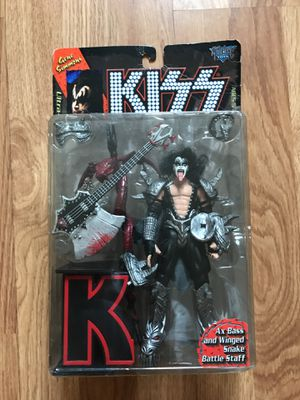 McFarlane Toys KISS Ultra Gene Simmons Action Figure for Sale in Hialeah, FL