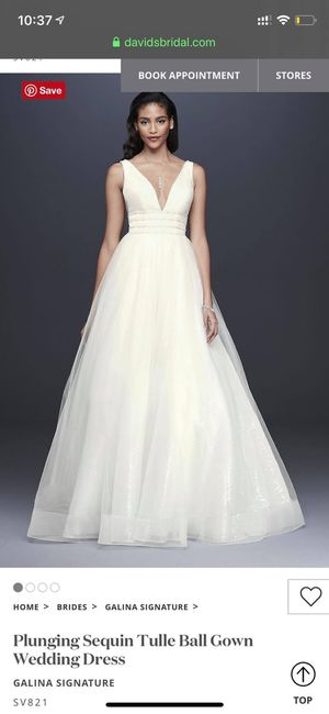 Wedding Dress - Size 4 for Sale in Evansville, IN