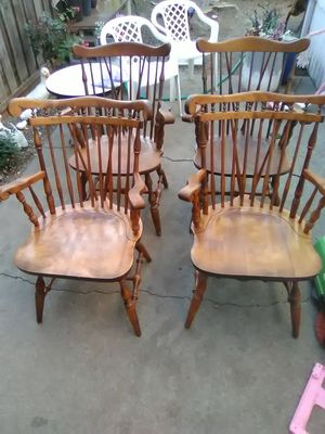 4oak chairs for Sale in Martinez, CA