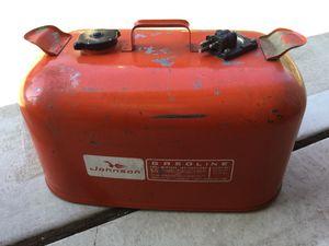 Johnson 6 Gallon Steel Outboard Motor Gas Tank for Sale in Oak Lawn, IL