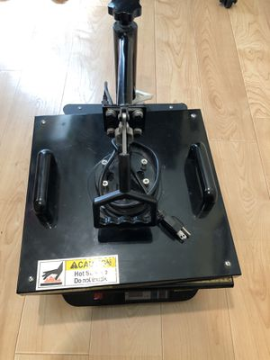 Heat Press Machine 15x15 Shirt Making Vinyl for Sale in Moreno Valley, CA
