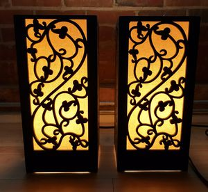 Night stand lamp (pair) for Sale in Durham, NC